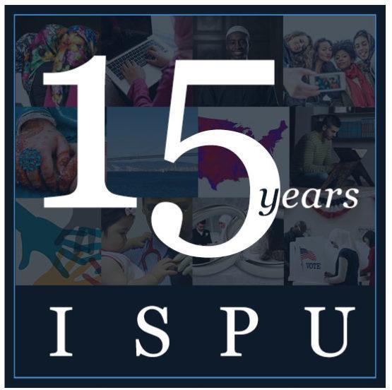 ISPU 15-Year Anniversary Logo