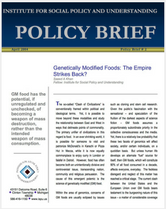 Genetically Modified Foods brief cover