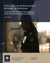 Police & law enforcement reform in Pakistan report cover