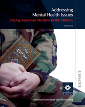Addressing Mental Health Issues report cover