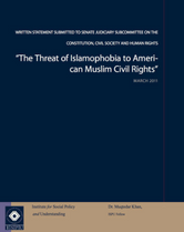 The Threat of Islamophobia to American Muslim Civil Rights cover