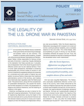 The US Drone War in Pakistan brief cover