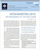 Afghanistan 2012 brief cover