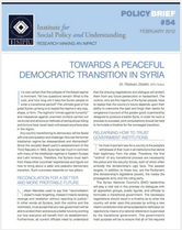 Towards a Peaceful Democratic Transition in Syria brief cover