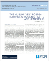 The Muslim Veil Post-9-11 policy brief cover