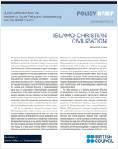 Islamo-Christian Civilization