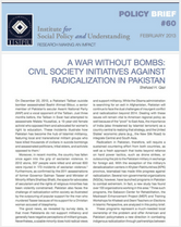 A War without Bombs policy brief cover