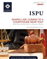 Shari'a Law: Coming to a Courthouse Near You? Report