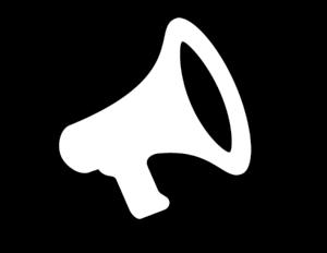A megaphone