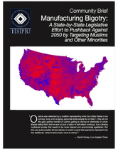 Manufacturing Bigotry report cover