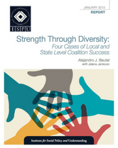 Strength through Diversity report cover