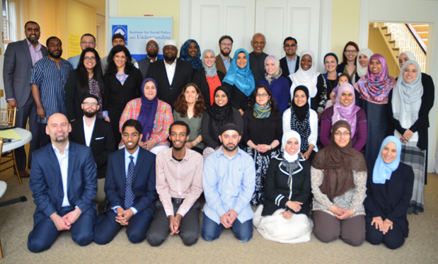 A group photo of the scholars who participated in the Generation 9/11 Youth Convening