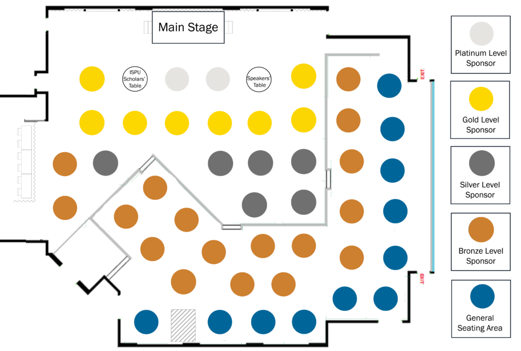 Banquet Hall Table Layout