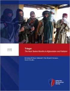 TriageThe Next Twelve Months in Afghanistan and PakistanThumb