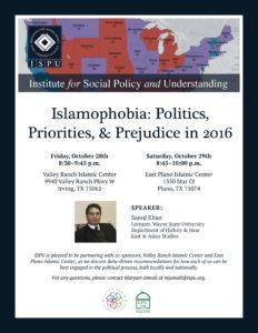 Dallas, Texas Islamophobia Event