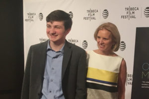 Pat McGarry at the Tribeca Film Festival