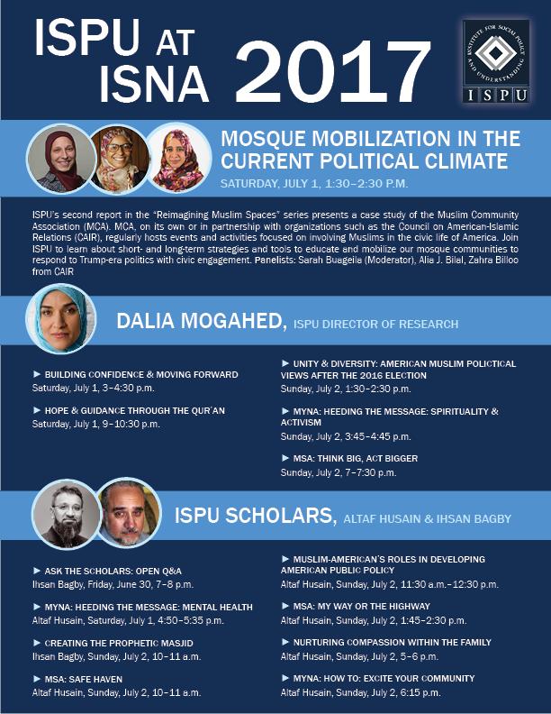 ISPU @ ISNA 2017 flyer
