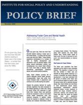 Addressing Foster Care and Mental Health brief cover