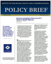 American Immigration Policy since 9:11 brief cover