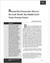 Beyond the Democratic Wave in the Arab World brief cover