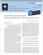 Charitable Giving among Muslim Americans brief cover