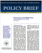 Democracy in the Middle East brief cover