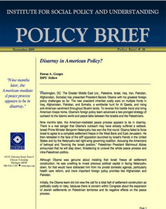 Disarray in American Policy brief cover