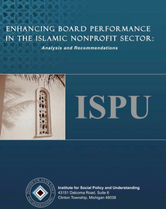 Enhancing Board Performance in the Islamic Nonprofit Sector report cover