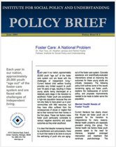 Foster Care-A National Problem brief cover
