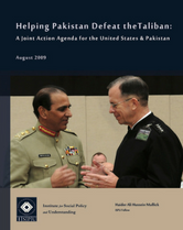 Helping Pakistan Defeat the Taliban report cover