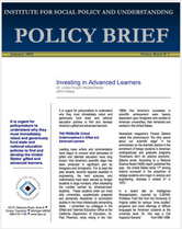 Investing in Advanced Learners brief cover