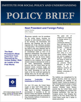 Next President and Foreign Policy policy brief cover