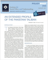Profile of the Pakistani Taliban brief cover