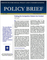 Putting the Immigration Debate into Context brief cover
