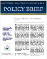 Substance Abuse Treatment and Prevention Strategies brief cover