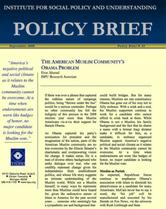 The American Muslim Community's Obama Problem brief cover