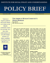 The American Muslim Community's Obama Problem brief cover