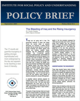 The Bleeding of Iraq and the Rising Insurgency brief cover