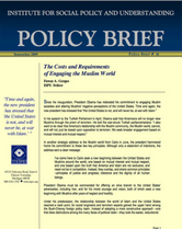 The Costs and Requirements of Engaging the Muslim World brief cover