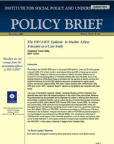 The HIVAIDS Epidemic in Muslim Africa brief cover