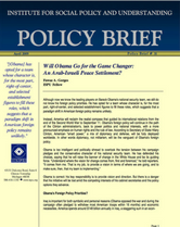 Will Obama go for the game changer policy brief cover