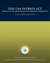 the usa patriot act report cover