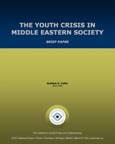 the youth crisis in middle eastern society report cover