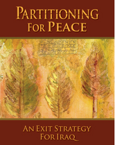 Partitioning for Peace book cover