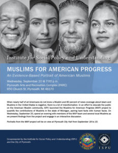 Muslims for American Progress - Plymouth Flyer