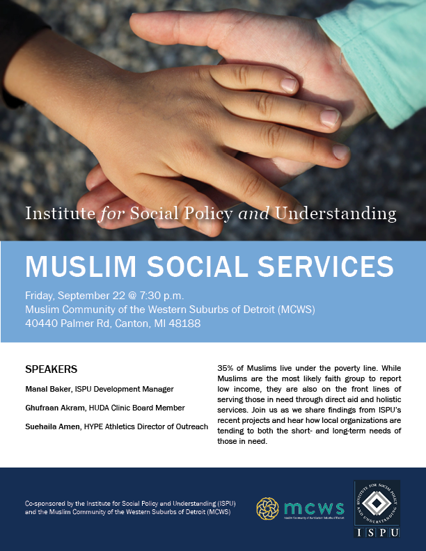 Muslim Social Services at MCWS flyer