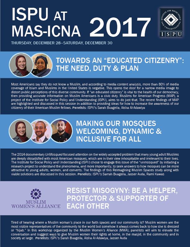 ISPU @ MAS-ICNA 2017 poster