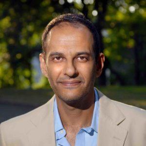 Mousafa Bayoumi near his home in Brooklyn, New York