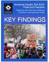 American Muslim Poll 2018 key findings cover