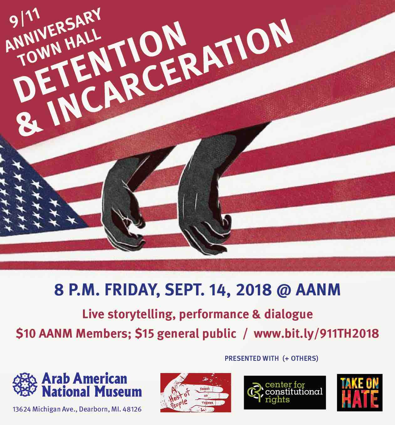 9/11 anniversary town hall: Detention and incarceration